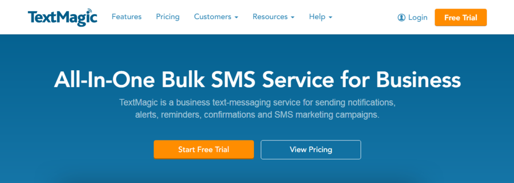 TextMagic and Text Message Service recommended by Sleek Web Designs