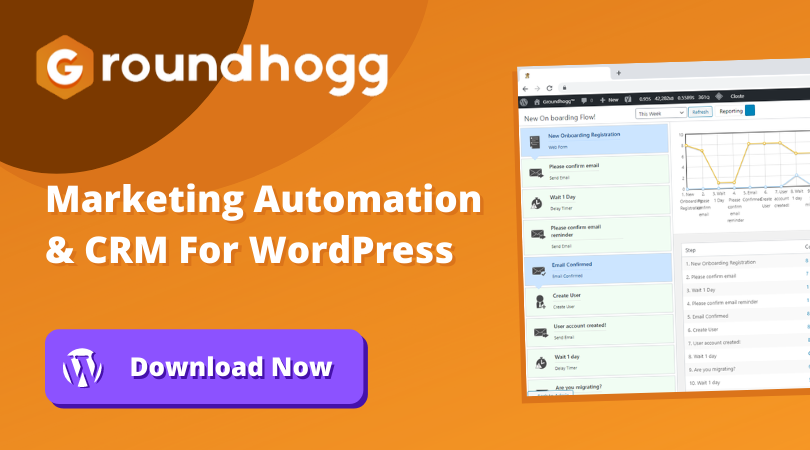 WordPress Web Customization Features and tips by Groundhogg