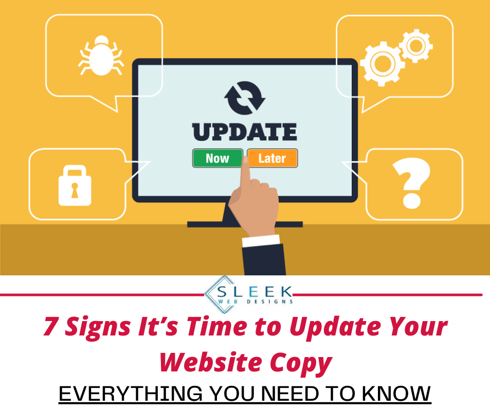 7 Signs It's Time to Update Your Website Copy