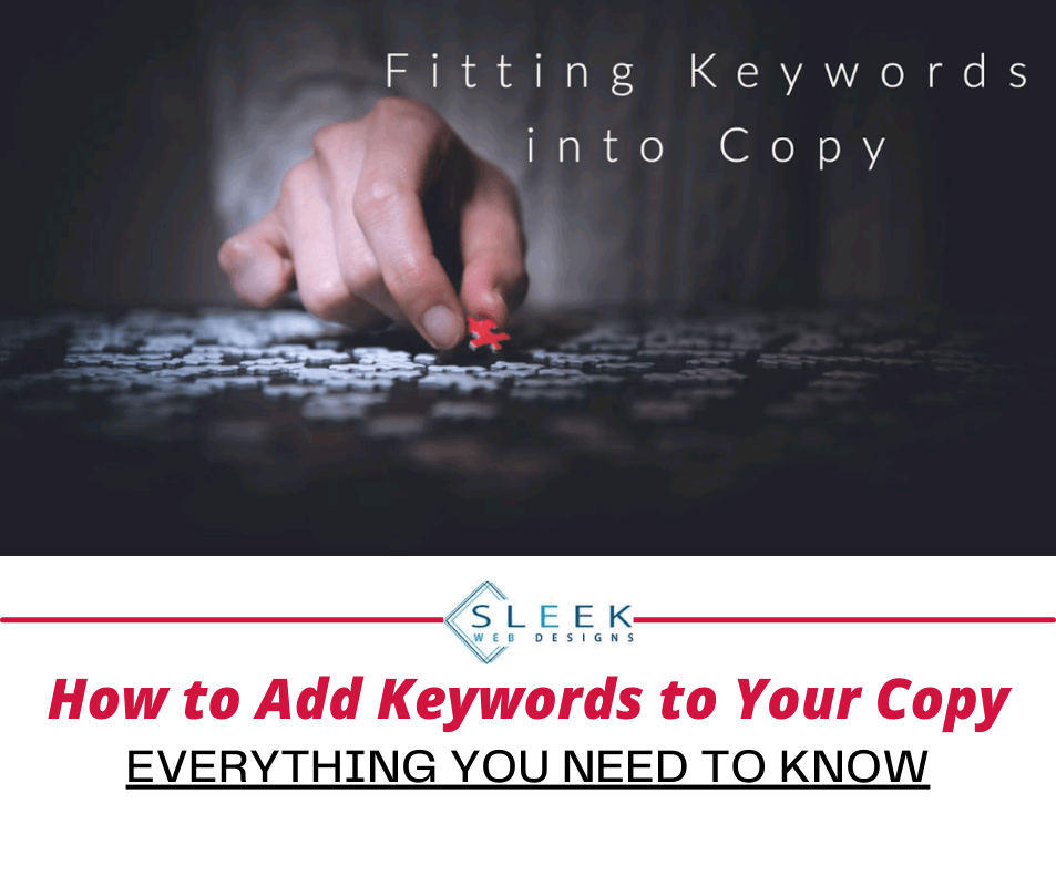 How to Add Keywords to Your Copy (So it Peases both Users and Search Engines)